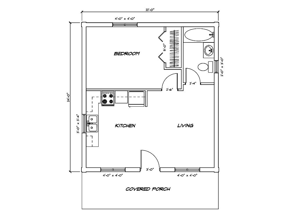 Cabin Model Plan 1