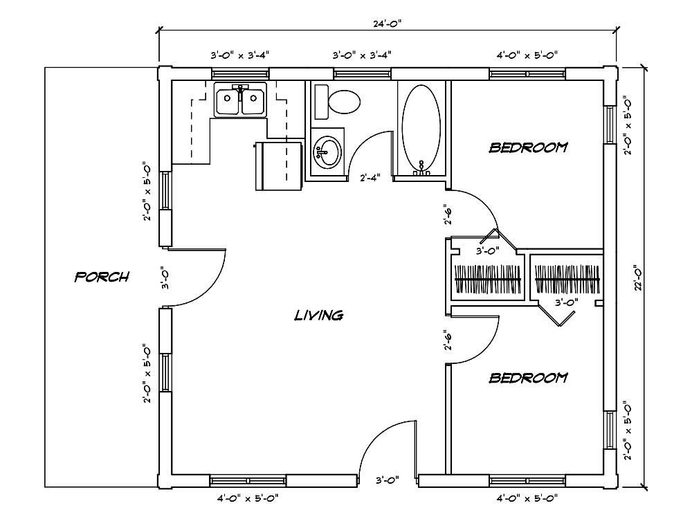 Cabin Model Plan 2