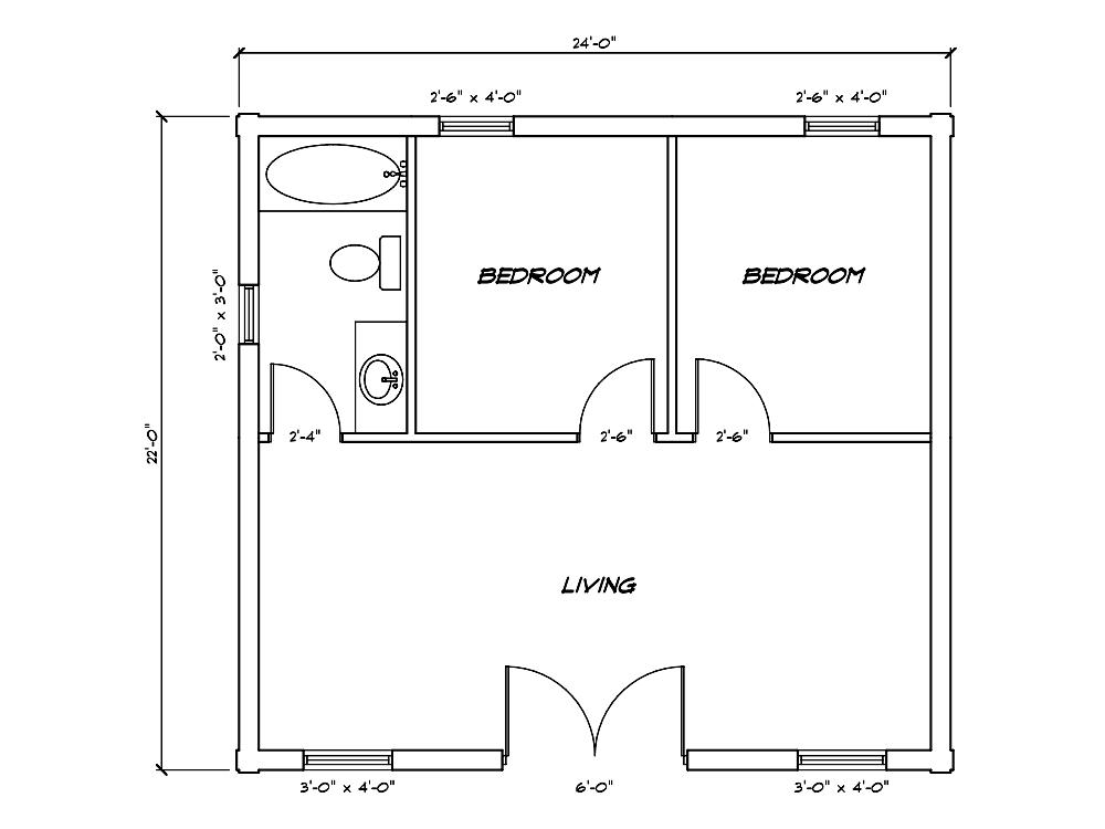 Cabin Model Plan 3