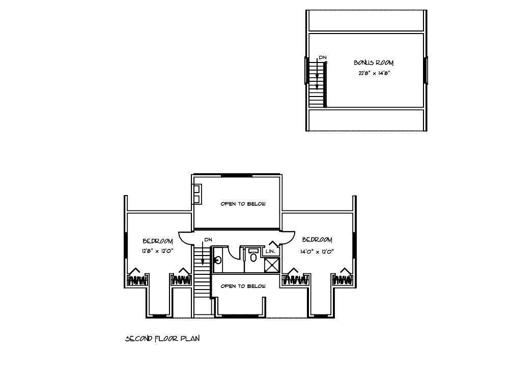 Petersburg Bedroom Blueprints