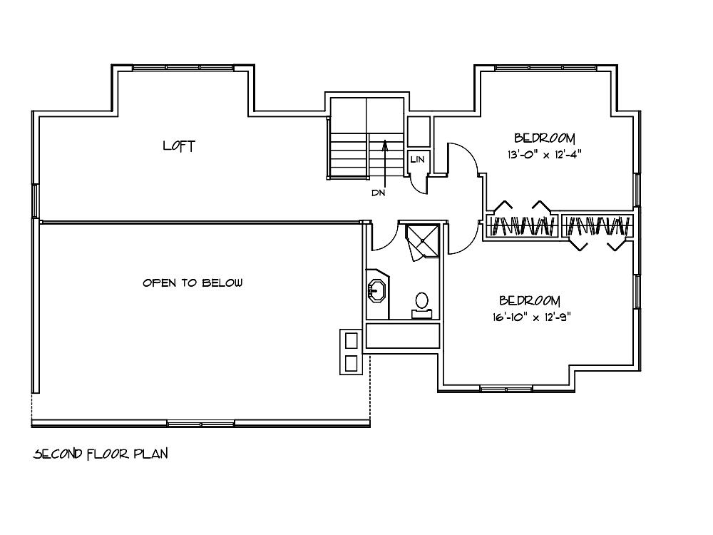 Poplar Bedroom Floor Layout