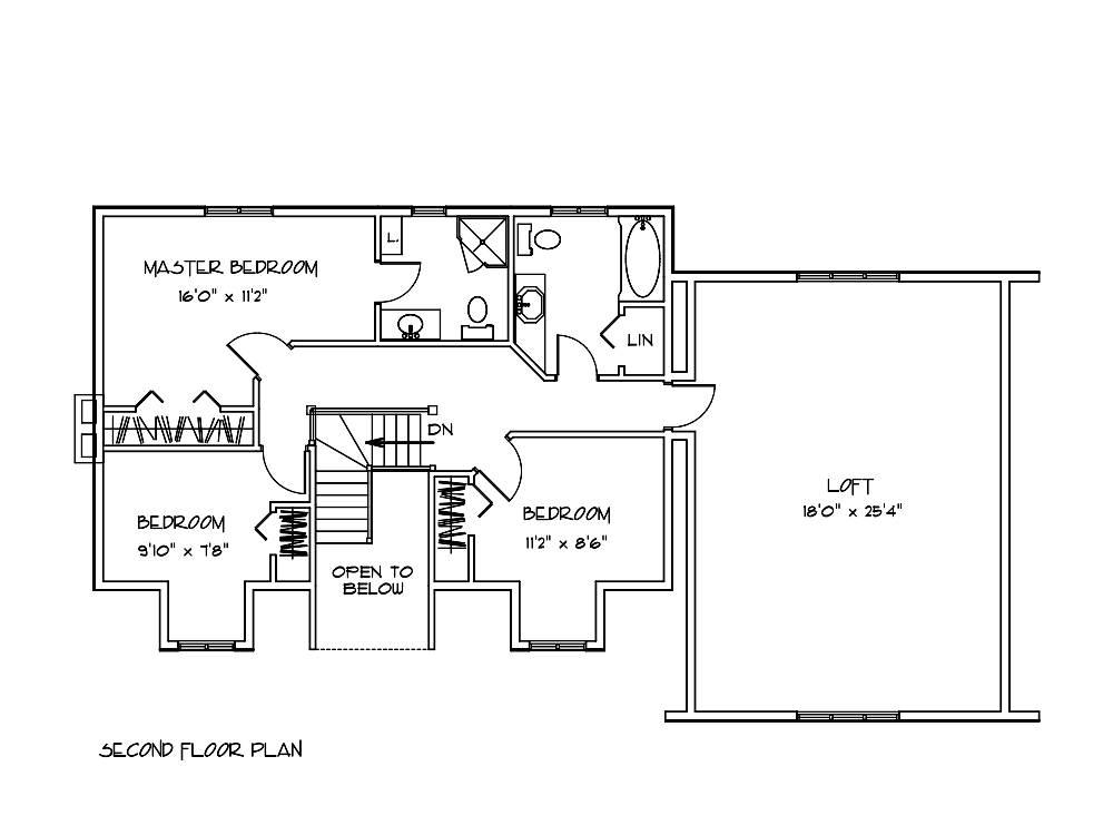riverwood Bedroom floor plan