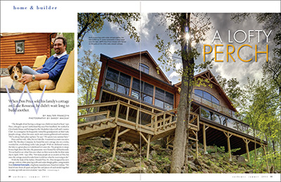 Our Homes Magazine 2011 article