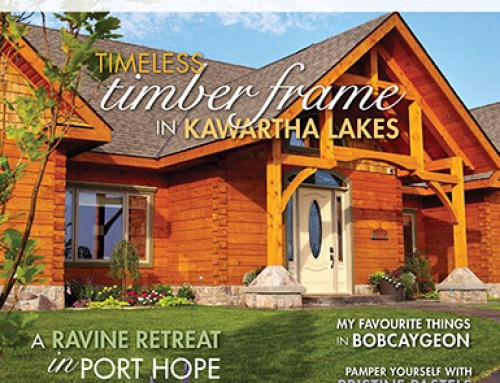 "Cover & Featured Article in ""Our Homes"" Magazine"
