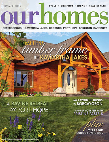 Our Homes Magazine 2012 Front Cover