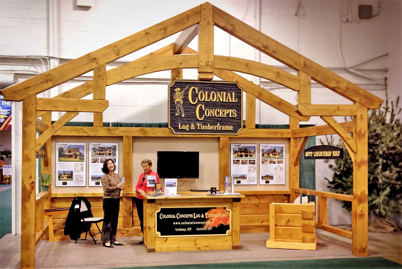 Cottage Life Show Booth 2015